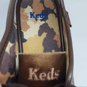 Keds Shoes - 4/$25 Keds brown leather Lace up sneakers size 7M